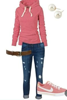 Cute Middle School Outfit Ideas | Cute girly outfit