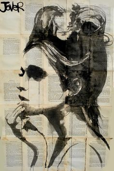 "Saatchi Online Artist: Loui Jover; Pen and Ink, 2013, Drawing ""ethereal"""