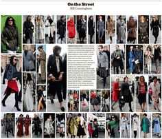 "Bill Cunningham makes an excellent point that ""street style"" snaps from Paris Fashion Week *aren't* ""French style."" Parisian women especially tend to be more subdued, classic and conservative in their style."