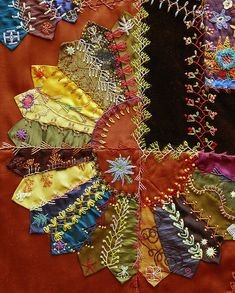 Gorgeous Crazy Quilt by Robyne Melia