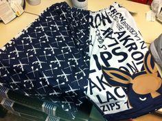 """Whoa."" University Of Akron, Zip, Shorts, Blouse, Gold, Women, Fashion, Moda, Women's"