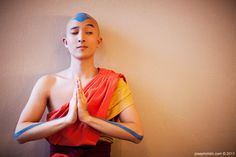 Aang cosplay--Avatar the Last Airbender | photo by Joseph Chilin