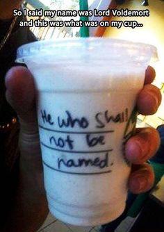 Starbucks humor #funnybaristas