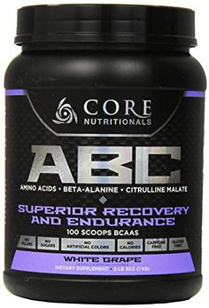 Core Nutritionals ABC PreWorkout Supplement White Grape 2 Pound 3 Ounce *** You can find out more details at the link of the image.  This link participates in Amazon Service LLC Associates Program, a program designed to let participant earn advertising fees by advertising and linking to Amazon.com.