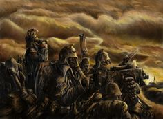 Painted 40K: All Quiet on the Western Front, Painted by Brilliane Feldo