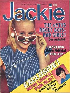 Jackie magazine August 9th 1980 Girls Magazine, Old Magazines, Girl Guides, Ol Days, Great Memories, Magazine Covers, Tween, Childhood Memories, Growing Up