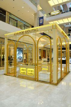 Annick Goutal, Pavilion Kuala Lumpur in Kuala Lumpur, Kuala Lumpur Exhibition Stall, Exhibition Booth Design, Retail Store Design, Retail Shop, Jewelry Store Design, Kiosk Design, Pop Up Shops, Boutique, Shopping