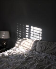 Night Aesthetic, Aesthetic Rooms, White Aesthetic, Bedroom Inspo, Bedroom Decor, Bedroom Shelves, Bedroom Signs, Bedroom Ideas, Messy Bed