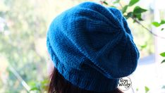 How to knit a Slouchy-Hipster Hat, for absolute beginners - So Woolly Slip Stitch Knitting, Lace Knitting, Knit Crochet, Crochet Hats, Baby Cardigan Knitting Pattern Free, Baby Knitting Patterns, Cardigan Pattern, Insta Bio, Hipster Hat