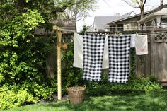 Line-Drying Linens-