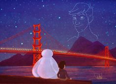 You're in the night sky now, Tadashi by whikiko.deviantart.com on #DeviantArt