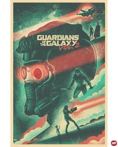 Guardians of the Galaxy Vol. 2 by The Brave Union @thebraveunion