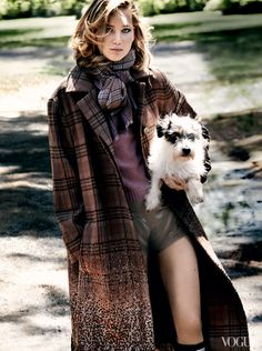 Jennifer Lawrence in September Vogue