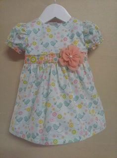 Retro Kitty Baby Dress Vintage Inspired Party Dress www.facebook.com/retrokitty55