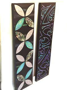 Pasifika and Māori 2 piece set. Samoan Designs, Maori Tattoo Designs, Tribal Designs, Diy Crafts For Bedroom, Fun Diy Crafts, Summer Arts And Crafts, Polynesian Art, Nz Art, Maori Art