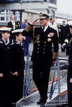 Prince Philip Is Honored with a <em>Duke of Edinburgh</em> Lifeboat on a Meaningful Anniversary Prince Andrew, Prince Phillip, Prince Charles, Duke Edinburgh, Peter Phillips, George Cross, Military Careers, Royal Marines, Princess Anne