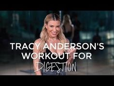 Tracy Anderson's 6-minute core workout to boost digestion | Good Moves - YouTube