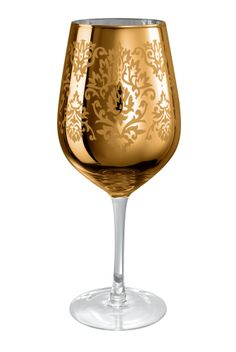 Artland Brocade Goblet in Gold (set of 4)  #holiday gift