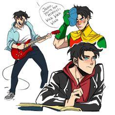 Teenage Jason #jasontodd #robin #dccomics #sketch #funstuff
