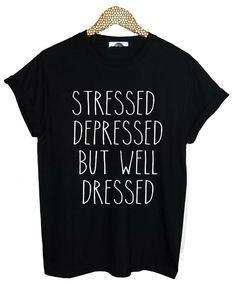 mais bien habillé chandail pull chemise Hipster Tumblr Souligné déprimé