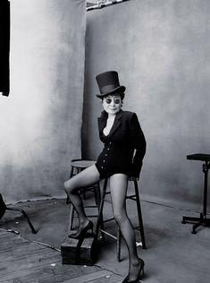 Next year's Pirelli calendar features photographs of notable women by Annie Leibovitz. October, Yoko Ono