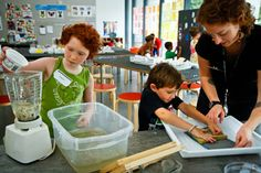How to Make Paper with Kids// The Eric Carle Museum