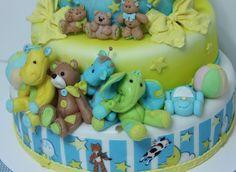 viorica's cakes: Tort botez Stefan