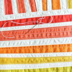 Sew Mojo #1 Mini Quilt Pattern (Download) - Suzy Quilts