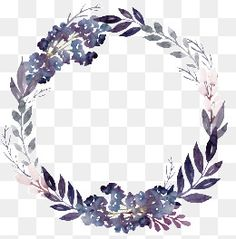 purple flowers foliage garland, Flowers, Plant, Leaves PNG Image and Clipart Flower Circle, Flower Frame, Painted Window Art, Art Graf, Flower Png Images, Watercolor Flower Wreath, Purple Wreath, Vintage Wreath, Picture Logo
