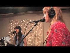 All or Nothing, by Au Revoir Simone (live on KEXP). I wanna' be friends with these girls. We could totally bake cookies together!