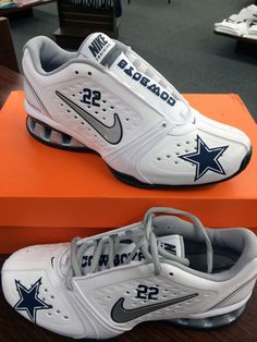 NIKES- 19 on. Dallas Cowboys ShoesCowboys ... 298001aef