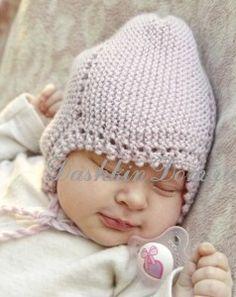 Шапочка для новорожденного спицами (14 моделей с описанием)
