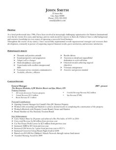 Click Here to Download this General Sales Manager Resume Template ...