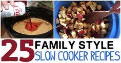 25 crock pot recipes the whole family will eat.