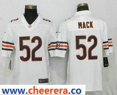 82c4df9bc34 Men's Chicago Bears #52 Khalil Mack White 2018 Vapor Untouchable Stitched  NFL Nike Limited Jersey