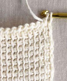 Tunisian Crochet Basics   Purl Soho