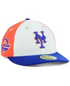 New Era New York Mets All Star Game Patch Low Profile 59FIFTY Fitted Cap  2018 - 9e180e55b016
