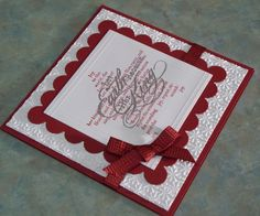 38 Awesome handmade christmas cards stampin up images