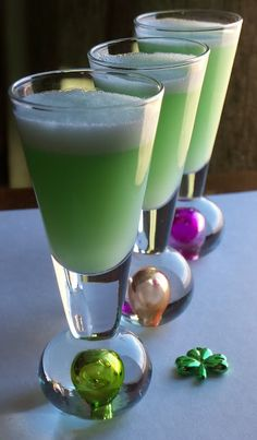 Lime & Coconut Rum Shooters   Ingredients  2/3    cup    sherbet ( lime )  1/4    cup    limeade ( I used Simply Lemonade Brand )  2    ounces    rum ( coconut rum (2 shots) )  Directions  Combine all ingredients in blender (I used my magic bullet). Mix until smooth. Pour into individua l shot glasses.