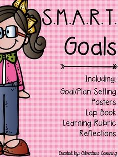 Helping student create goals they can achieve can be just the motivation… What Are Smart Goals, Leadership Notebook, Smart Goal Setting, Setting Goals, Teacher Evaluation, Seven Habits, Leader In Me, Goal Planning, Beginning Of The School Year