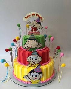 Bolo lindo da Por A estrela da festa! O bolo! Halloween Pretzels, Pretzel Desserts, Music Party, Fiesta Party, Cupcakes, Pretty Cakes, Pastel, Cinnamon Rolls, Party Time
