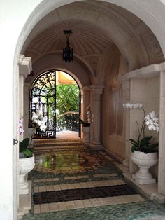 Inside The Villa by Barton G. (formerly Versace mansion)  Hubby took me there last year.