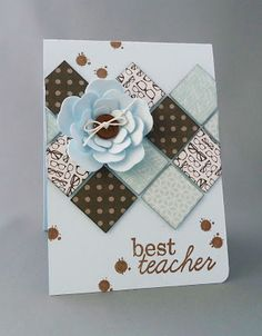 Bij Oma Dee: Inspiratiekaart Best Teacher