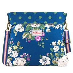 Hampstead Rose Reversible Folded Messenger Bag | Uni Bags | CathKidston