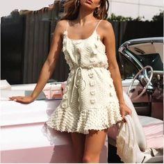 Summer Style Mini Dresses – Maizys Boutique Short Beach Dresses, Boho Summer Dresses, Summer Dresses For Women, Boho Dress, Dress Skirt, Lace Outfit, Casual Party Dresses, Sexy Dresses, Mini Dresses