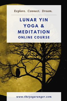 Learn about the lunar energy cycles, and how to connect to that natural energy using Yin Yoga and meditation! Yin Yoga Sequence, Yin Yoga Poses, Restorative Yoga Poses, Yin Yoga Benefits, Pure Yoga, Yoga Props, Advanced Yoga, Deep Relaxation, Improve Mental Health