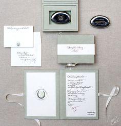 Catherine & Jeff - Wedding Invitations - Classic - Ceci Couture - Ceci Wedding - Ceci New York