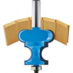 "Rockler Bead & Cove Canoe Building Router Bits - 1/2"" Shank"