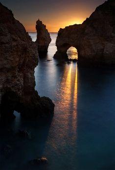 Ponta da Piedade sunset