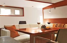 Hanse from Germany Hanse Yachts, Building Companies, Motor Yacht, Drinking, Germany, Modern, Table, Furniture, Home Decor